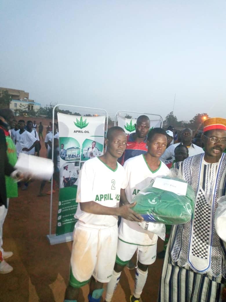 Les activités de la coupe du maire de l'arrondissement 9 de Ouagadougou