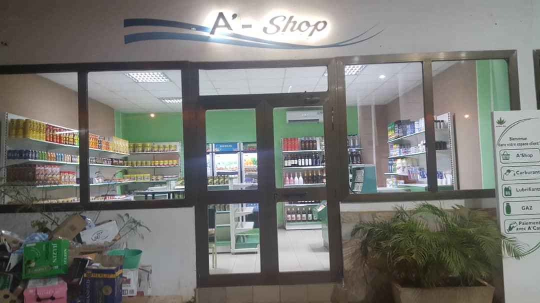 L'intérieur de nos boutiques